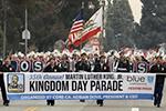 洛杉矶举行马丁・路德・金纪念日游行
