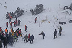 土耳其东部凡省第二次雪崩已致33人遇难