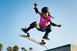 11岁滑板天才少女将参加东京奥运
