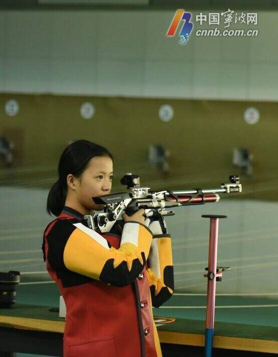 中国国家射击队首次举办