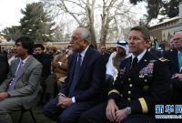 加尼宣誓就任阿富汗第四任总统