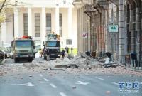 克罗地亚首都以北发生5.3级地震