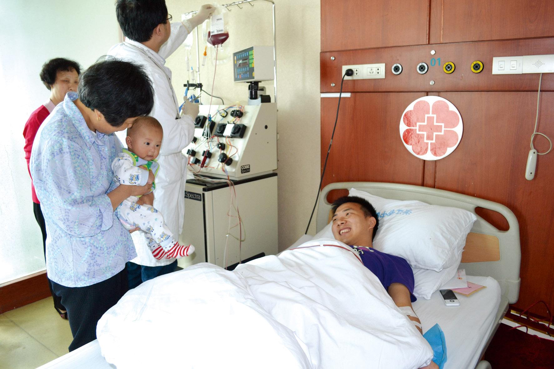 被别人需要是一种幸福 造血干细胞捐献者的故事