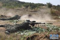 """中柬两军举行""""金龙-2020""""联合训练"""