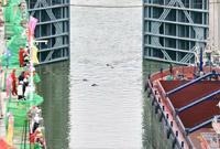 广西大藤峡水利枢纽工程试通航启动