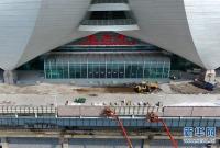 山东:济青高铁红岛站建设提速