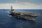 """又有航母现新冠确诊病例 美国海军近半数主要战力""""折损"""""""