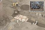 震惊!无人机拍摄到纽约哈特岛大规模埋尸画面