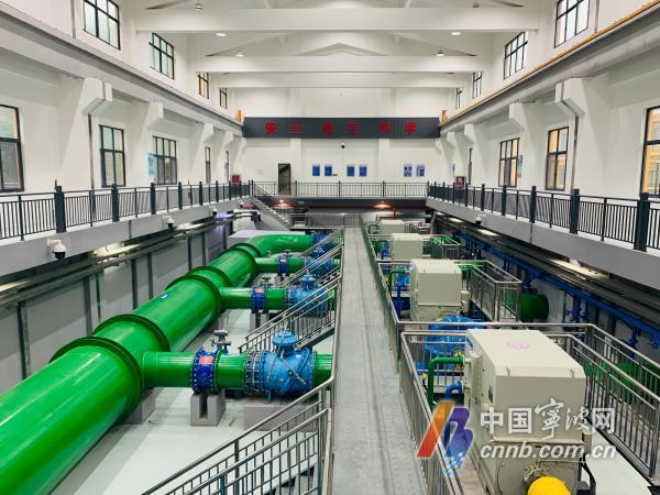 溪下水库的优质原水将通过溪下加压泵站被输送至水厂,送到千家万户.jpg