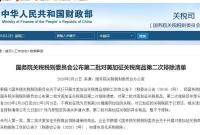 国务院关税税则委公布第二批对美加征关税商品第二次排除清单