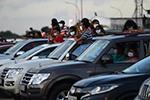 斯里兰卡科伦坡:汽车露天音乐会