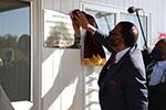 纳米比亚首个新冠肺炎救治隔离中心揭牌