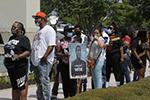 美国休斯敦市举行弗洛伊德遗体公众瞻仰活动