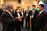 巴勒斯坦总理会见中国赴巴抗疫医疗专家组