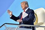 特朗普首次竞选集会遭遇冷场 美媒:彻底失败