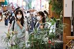 日本东京观光景区人流量逐渐恢复