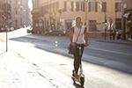 电动踏板车成为意大利人出行新选择