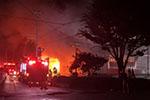 日本静冈一工厂发生火灾 造成3名消防员、1名警察身亡