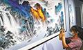 公益中国·寒石书画艺术全国巡回展在甬举行
