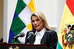 玻利维亚临时总统阿涅斯新冠病毒检测结果呈阳性