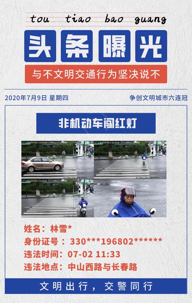 排名第二的李*勇被查处交通违法行为8起