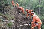 内蒙古大兴安岭北部原始林区森林火灾已实现合围
