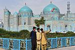 阿富汗:蓝色清真寺重新开放