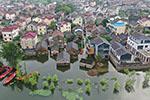 江苏南京:石臼湖水位持续上涨