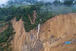 湖北恩施屯堡乡马者村出现大面积滑坡