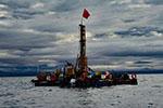 我国首次在西藏高原成功钻取百米湖芯
