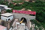 中老铁路全线控制性工程会富莱隧道贯通