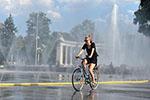 维也纳遭遇高温天气