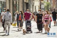 """法国里尔等城市强制施行""""口罩令"""""""