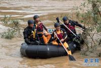 韩国遭受暴雨袭击