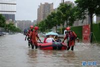 四川强降雨持续 逾10万人受灾