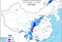 最高级别!四川中部局地山洪红色预警发布 五预警齐在线