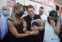 黎巴嫩:消防员的葬礼
