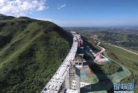 甘肃双达公路建设稳步推进