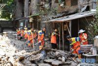 重庆江北:齐心协力开展灾后恢复重建