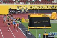 东京奥运会主体育场举行首场正式田径比赛