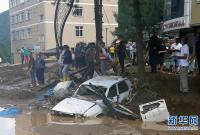土耳其北部发生洪灾至少6人死亡