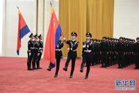 中国人民警察警旗授旗仪式在京举行