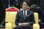 日本前外相岸田文雄表示将参选自民党总裁