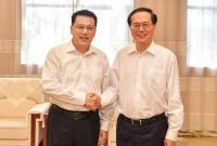 省委召开领导干部会议宣布中央决定
