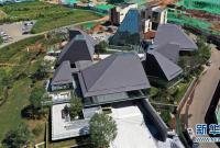 """天津蓟州区""""矿坑""""上的伊甸园项目施工进展迅速"""