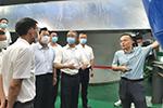 丽水市党政代表团在甬考察 裘东耀与胡海峰座谈