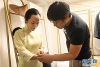 """杭州:做旗袍的""""80后""""设计师"""