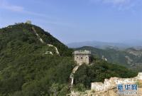 河北遵化:大石峪长城抢险加固保护工程施工正酣