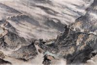 国画长卷《血肉滇缅路》在云南展出