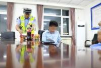 14岁男孩无证驾车700公里至辽宁 交警拦停
